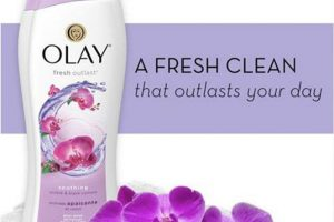 Sữa Tắm Dưỡng Ẩm OLAY Fresh Outlast Soothing Orchid & Black Currant 650ml Mỹ