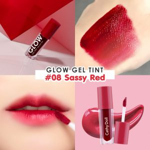 Son lì CATHY DOLL GLOW GEL TINT No.08